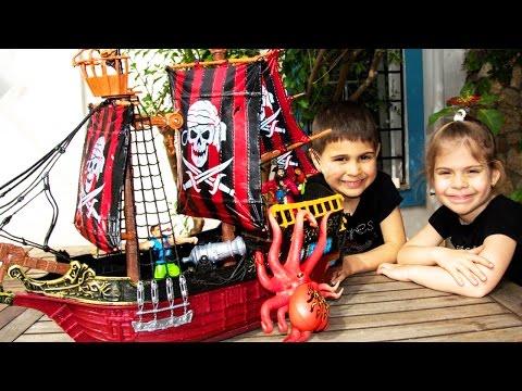 Пираты. СОКРОВИЩА ПИРАТОВ. Игры для детей. Видео для детей
