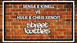 SENSA & KINELL VS HULK & CHRIS XENOIT | Don't Flop Rap Battle