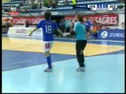 Futsal :: 04J :: Belenenses - 4 x Sporting - 3 de 2008/2009