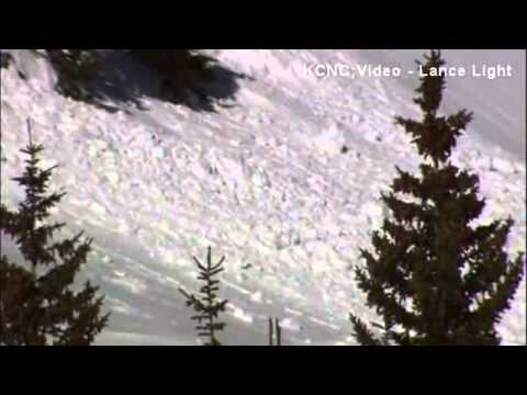 VIRAL VIDEO Skiier caught in avalanche captures ordeal on camera