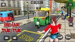Offroad Tuk Tuk Driving Simulator 2019 - Indian Rickshaw Auto - Android Gameplay