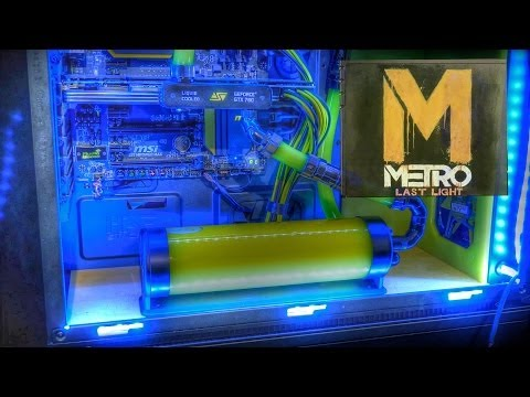 The Metro 935 - Liquid Cooled Modded MONSTER Gaming PC