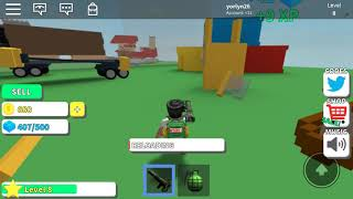 My first time playing des game in roblox and got good so fast