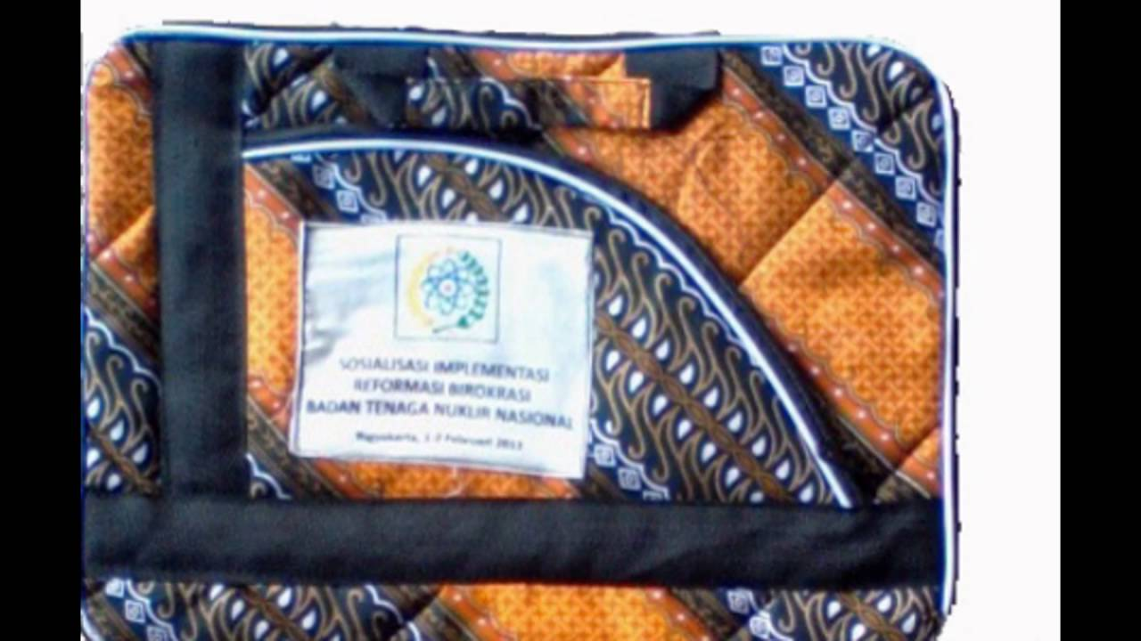 grosir tas laptop batik murah (081392622066) - YouTube 37b038b81b