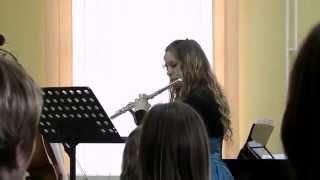 C. Saint Saens - Romance Op. 37 (Flute - Barbara Klug)