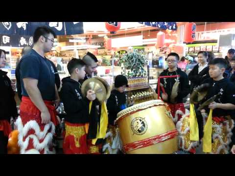 Drumming Demo 02 @ New T&T Supermarket Calgary 2015