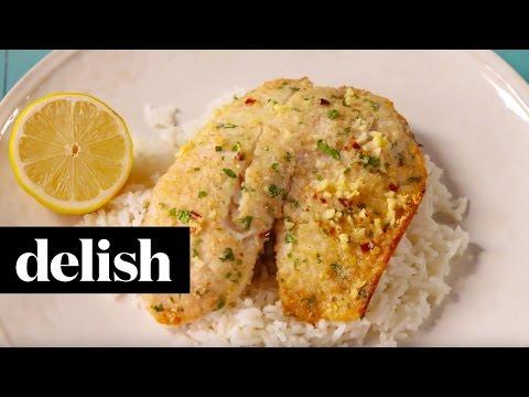Parmesan Crusted Tilapia | Delish