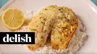 Parmesan Crusted Tilapia  Delish