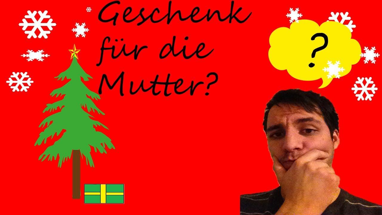 Weihnachtsgeschenk für die Mutter? - YouTube