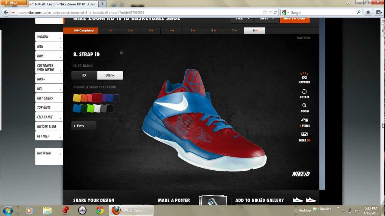 13400f3d1f0 How to Make a Great Nikeid Shoe - YouTube