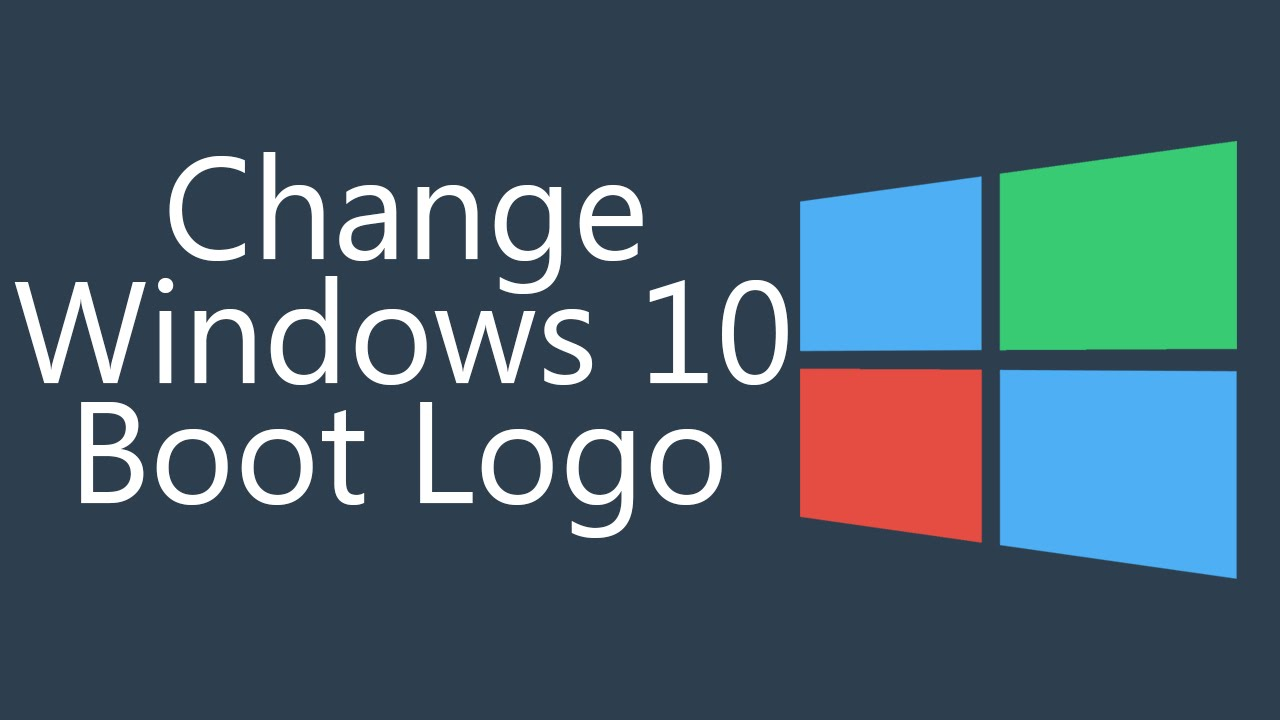 CUSTOM Windows 10 Boot Logo How To