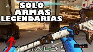 Halo 5 Warzone Turbo *SOLO ARMAS LEGENDARIAS* VS PINGY
