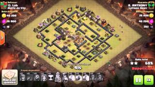 Clash of Clans: Latinos Army / Th 9 Vs Th 9 / GOVALO / Héroes 16 - 21