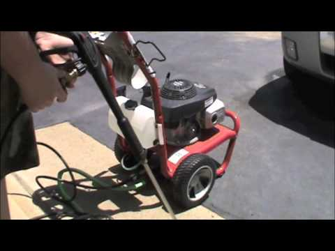 Troy Bilt Pressure Washer Review Set Up And Run Youtube