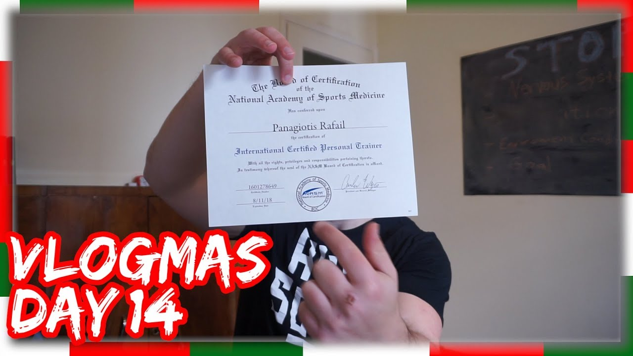 Personal Trainer Vlogmas Day 14 Youtube