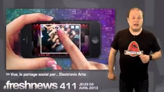 freshnews #411 Instagram 1 an sur Android. Vue par EA. Blackberry 10 sur iOS et Android (04/04/2013)