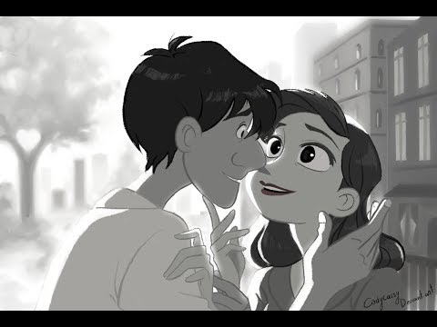 Great Heart Touching Love Animated Short Films | Paperman |