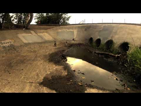 Gopro Drain Skating - San Diego