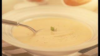 Крем-суп из корня сельдерея