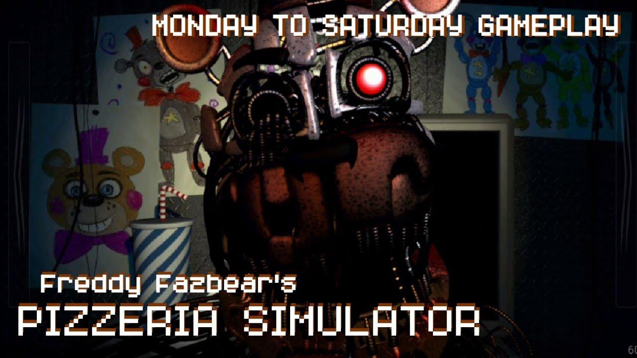 FNaF 6: Pizzeria Simulator Monday - Saturday Walkthrough | FNaF 6  iOS/Android Day 1-6 Guide