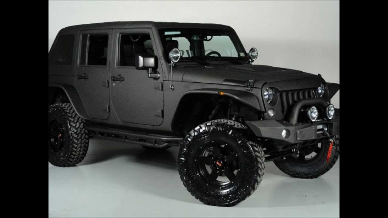 2014 Lifted Jeep Wrangler Unlimited Fastback - YouTube