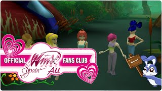 Winx Club PC Game - 8. A Troll escaped from Specialists' space ship