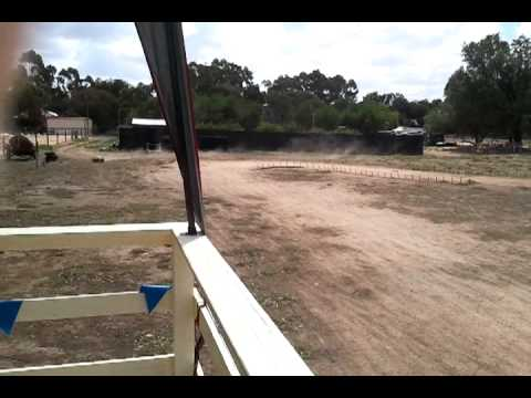 1/5 HSP MONSTER TRUCK RUNNING IN ON BIG TRACK