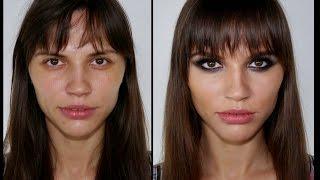 Coco Rocha Rocker Chic Makeup Tutorial Facil y Rápido