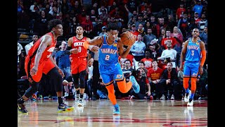Thunder Go On Unreal Comeback To Steal Game From Rockets | 4th Quarter Highlights