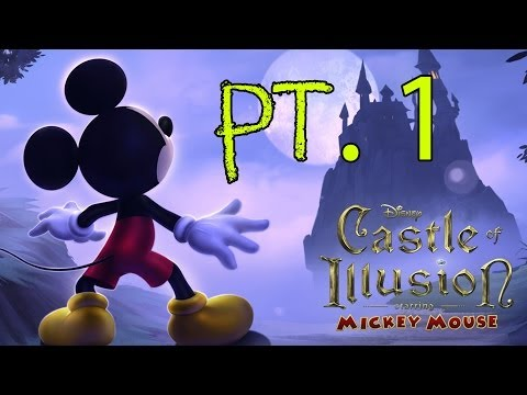 Let's Play: Castle Of Illusion Starring Mickey Mouse' IOS Pt. 1 (Enchanted Forest + Boss Fight)