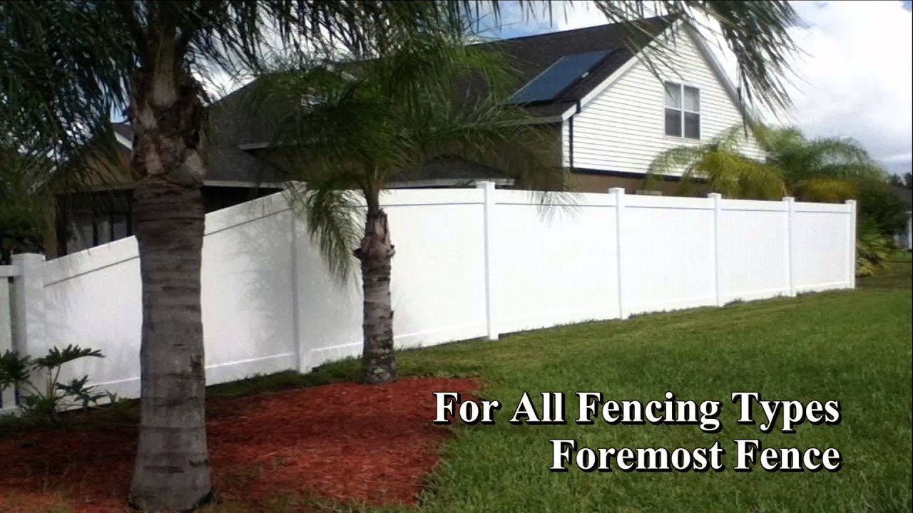 find different fencing types at fence bradenton youtube