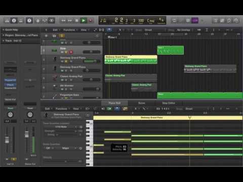 Calvin Harris Ft. Frank Ocean & Migos - Slide Instrumental Remake (Logic Pro X)