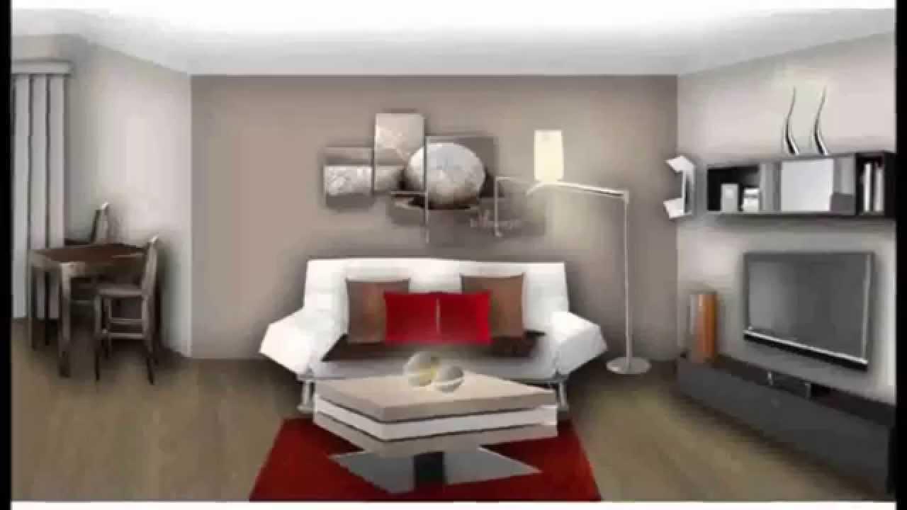 deco salon moderne 2015 Decoration maison moderne - YouTube