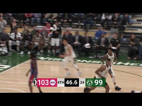 Joel Bolomboy Posts 11 points & 11 rebounds vs. Grand Rapid Drive