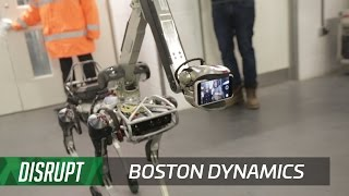 Backstage Shenanigans With Boston Dynamics