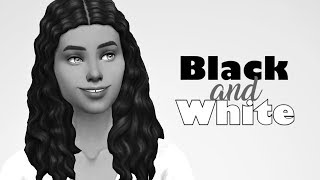 OH DEAR GOD 😳🧐 // The Sims 4: Black and White CAS Challenge