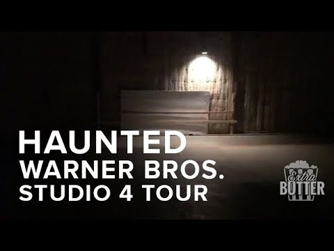 Haunted Warner Bros. Studio 4 Tour | Site Of 'The Conjuring 2' |Extra Butter