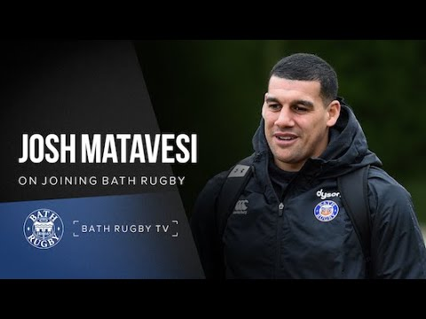 Josh Matavesi on joining Bath Rugby