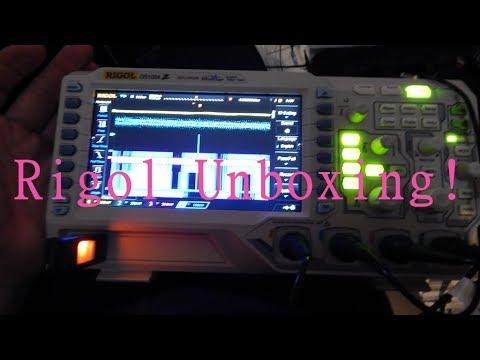 UnBoxing a Rigol DS1054z Oscilloscope!