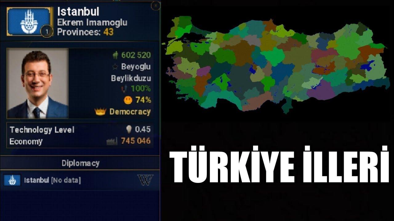 Age Of Civilizations 2 Android Türkiye İlleri