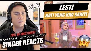 Download lagu SINGER REACTS to Lesti - Hati Yang Kau Sakiti/상처 받은 마음 [orig. by Rossa]