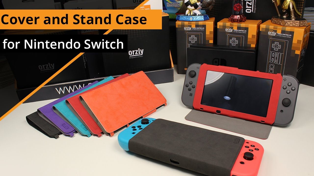 Orzly Cover And Stand Case For Nintendo Switch Youtube