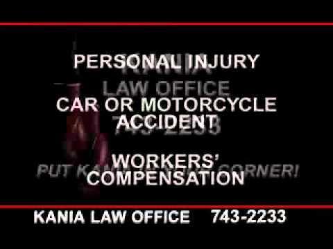 Tulsa Personal Injury lawyers – Kania Law Office – 918-743-2233
