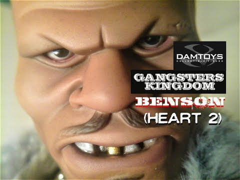Fu-Reviews: DamToys Gangsters Kingdom Benson (Heart II) 1/6 Figure GK013