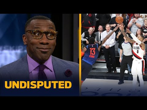 Damian Lillard was 'spectacular' dropping 50 & the series-winner — Shannon Sharpe | NBA | UNDISPUTED