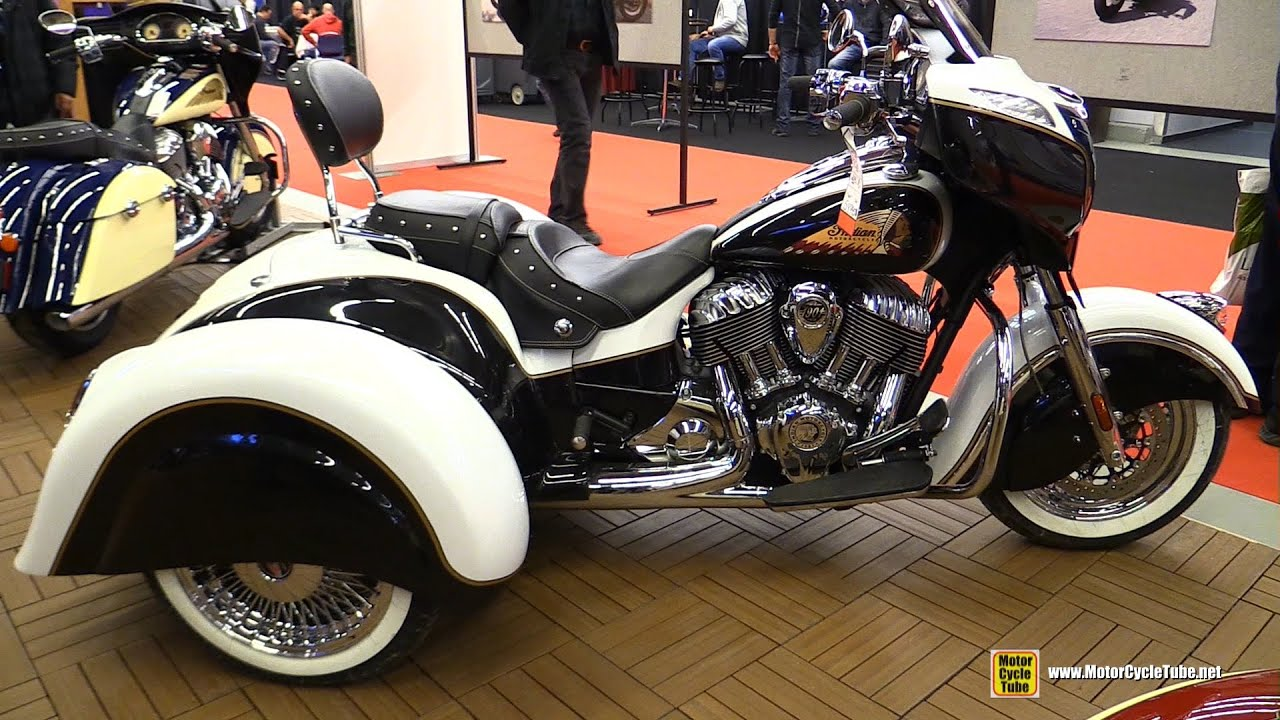 2014 Indian Trike - Walkaround - 2015 Salon Moto de Montreal