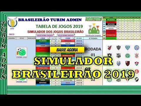 Simulador brasileirao serie a