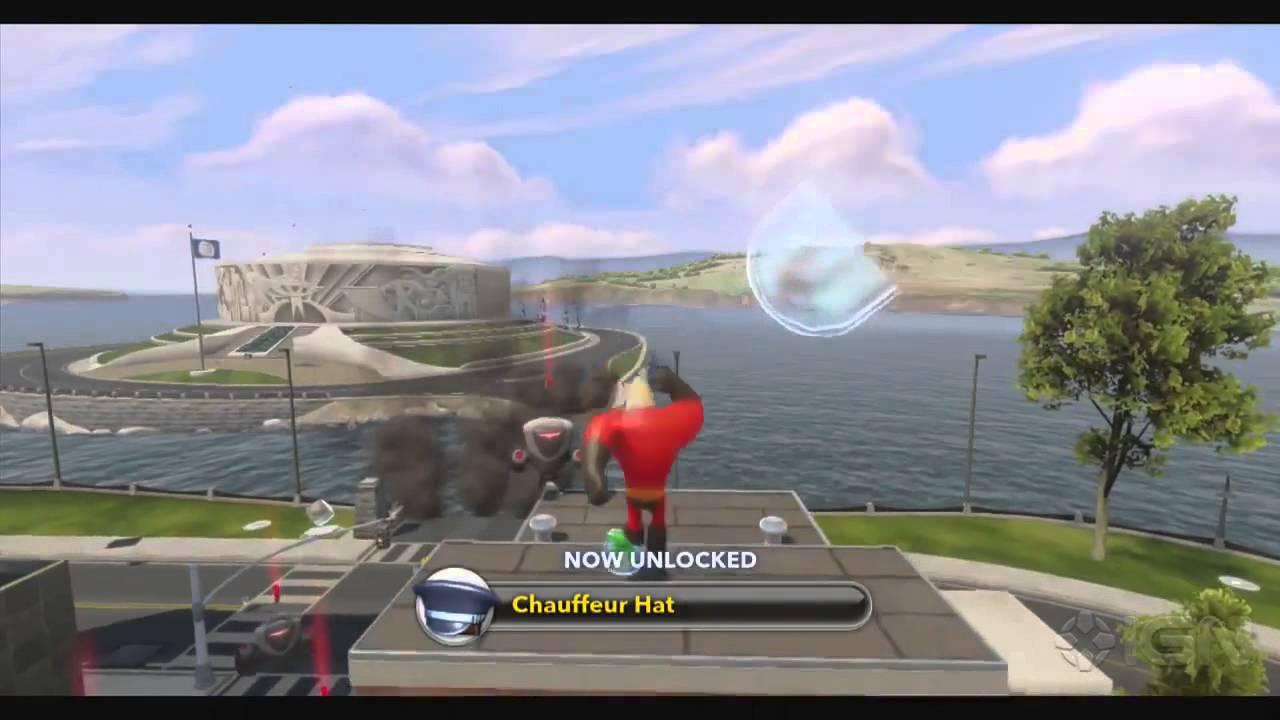 Disney Infinity Walkthrough The Incredibles Edna Arrives Youtube