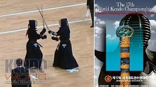 Men's Ind. 4R Japan vs Croatia - 17th World Kendo Championships (2018)