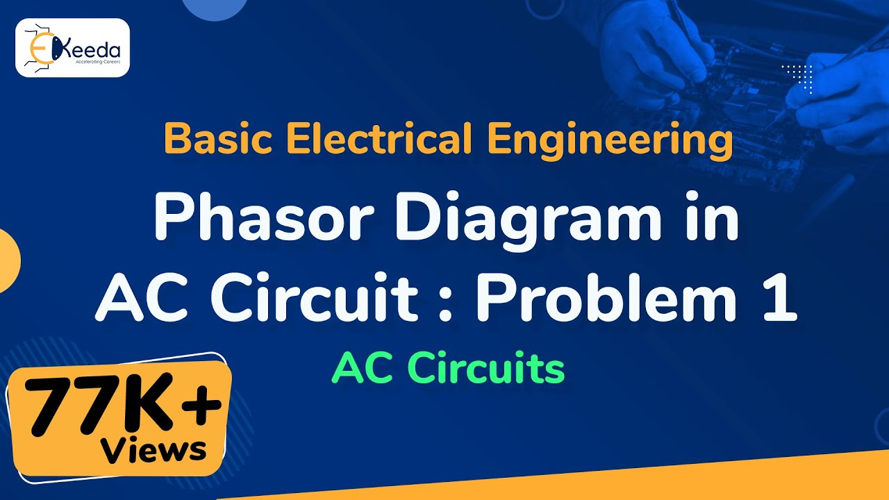 Phasor Diagram In Ac Circuit Problem 1 Circuits Basic Electrical Diagrams Phasordiagraminaccircuit Accircuits Basicelectricalengineering